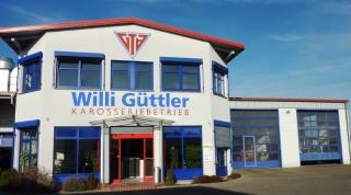 Außenansicht der Firma Willi Güttler