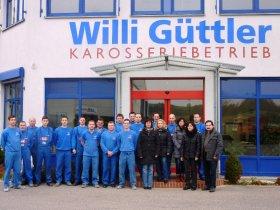 Das Team von Willi Güttler freut sich auf Ihren Besuch